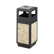 Safco Canmeleon™ Aggregate Panel, Ash Urn/Side Open, 15 Gallon