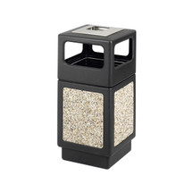 Safco Canmeleon™ Aggregate Panel, Ash Urn/Side Open, 38 Gallon