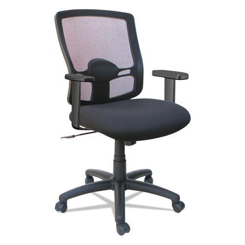 Alera Etros Series Mesh Mid-Back Swivel/Tilt Chair Model:  ALE-ET42ME10B