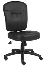Boss Leather Task Chair B1560