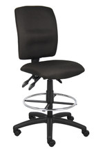 Boss Multi-Function Fabric Drafting Stool B1635-BK