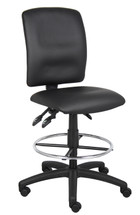 Boss Multi-Function Leatherplus Drafting Stool B1645