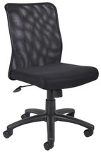 Boss Budget Mesh Task Chair Without Arms B6105