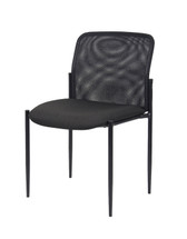 Boss Mesh Guest Chair Without Arms B6919