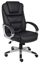 "Boss ""Ntr"" Executive Leatherplus Chair B8601"