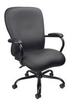 Boss Heavy Duty Caressoftplus Chair - 350 Lbs B990-CP
