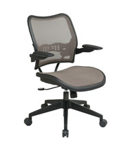 Office Star Deluxe AirGrid® Seat and Back Chair with Cantilever Arms 13-88N1P3