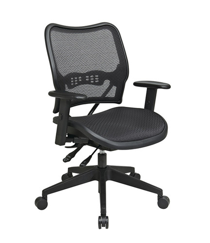 Genial Office Star Deluxe Chair With AirGrid® Seat And Back 13 77N9WA