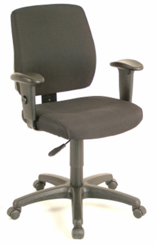 office star task chair with ratchet back height adjustment with