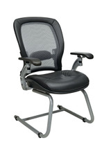 Office Star AirGrid® Back Visitors Chair with Cantilever Arms 3685