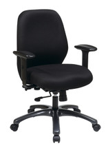 Office Star 24 Hour Ergonomic Chair with 2-to-1 Synchro Tilt 54666-231
