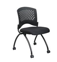 Office Star Deluxe Armless Folding Chair (2-Pack) (83220-30
