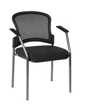 Office Star ProGrid Contour Back Visitors Chair with Arms 86710-30