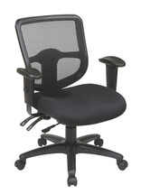 Office Star Ergonomic Task Chair with ProGrid® Back and Ratchet Back Height Adjustment 98344-30