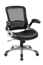 Office Star Screen Back and Eco Leather Seat Managers Chair EM35206-EC3