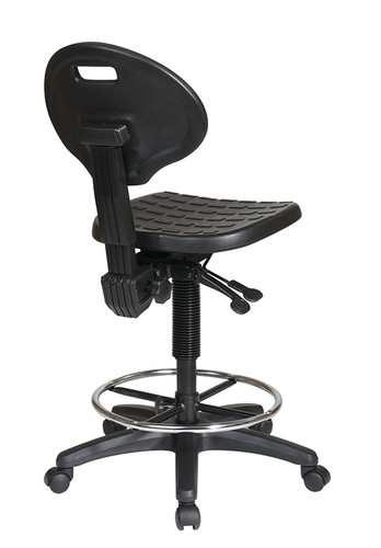 ... Ergonomic Drafting Chair With Adjustable Footrest. Image 1