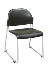 Office Star Stack Chair with Plastic Seat and Back STC3230