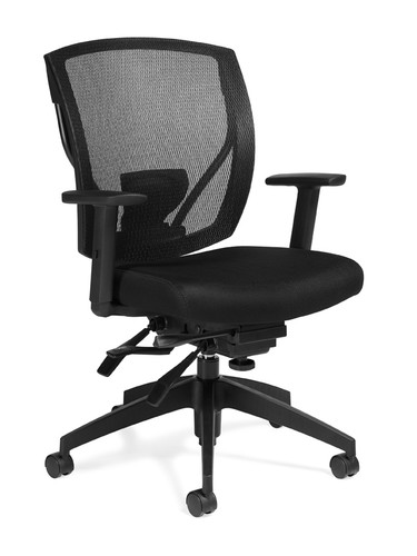 offices to go mesh seating executive chair with arms infinite tilt