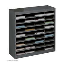 Safco E-Z Stor® Literature Organizer, 36 Letter Size Compartments