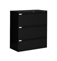 Global LATERAL FILES-9300P Series BLACK 9336P-3F1H