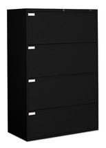 Global LATERAL FILES-9300P Series BLACK 9336P-4F1H