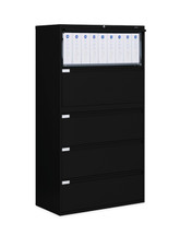 Global LATERAL FILES-9300P Series BLACK 9336P-5F1H