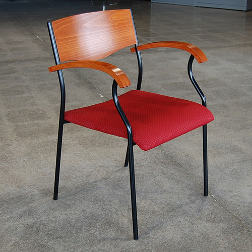 Geiger Red Side Chair