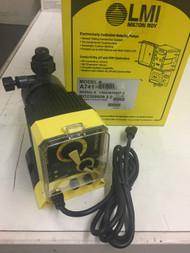 LMI Pump Model A741-818SI, Brand New In Box, All Accessories. New Old Stock