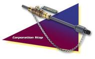 Neptune CS2-100-PVC-NL Corp Stop
