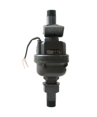 Vertical Positive Displacement Water Meter, 3/4""