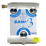 Knight SANI-CLEAN III, Model SCIII, Wall Mounted Foam, Rinse and Sanitizing System - 8900925