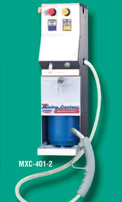 Knight MXC-401-F2, 2 button chemical dilution dispenser with bucket filling hose.