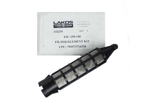 "Lakos Twist II Clean T2C-150-140 Filter Element Kit 140# (105 Micron) Fits 1.5"" Models (132235)"