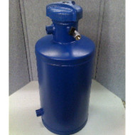 Chemical ByPass Feeder 5 Gallon Flat Bottom with Air Release and Quick Closure Lid