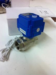 "KLD075 3/4"" Brass Motorized Ball Valve, 95-250 VAC"