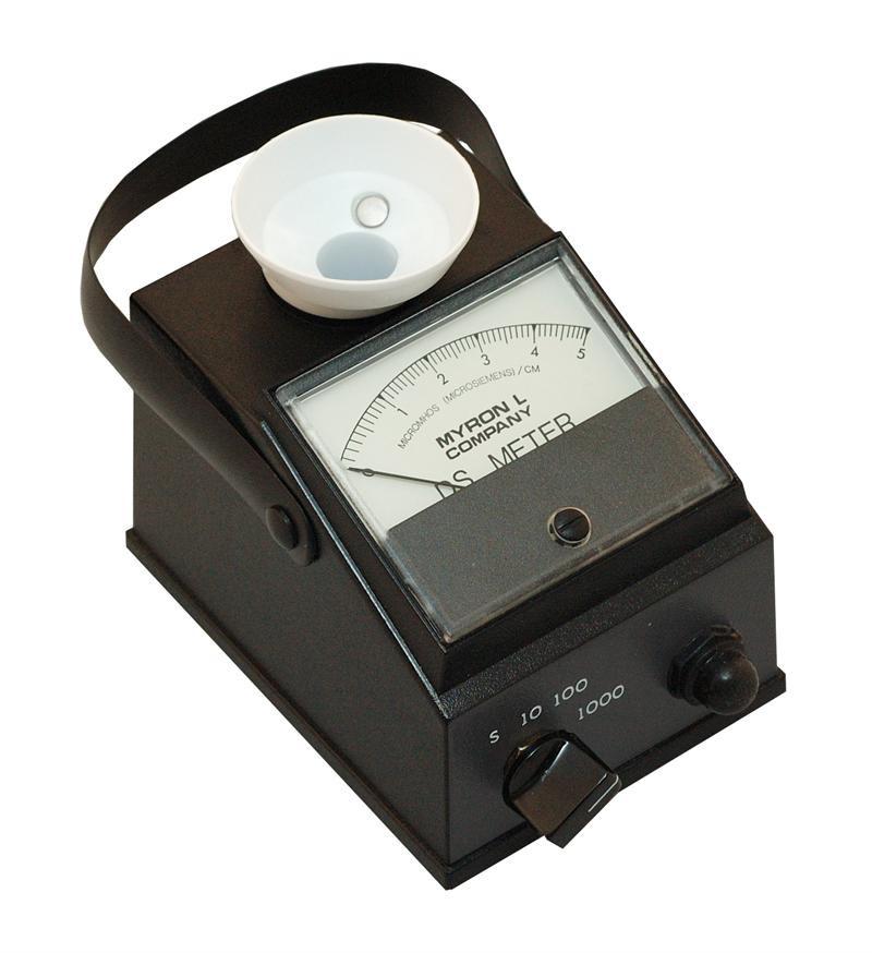 Myron L Conductivity Meter : Myron l m conductivity tester handheld meter cannon