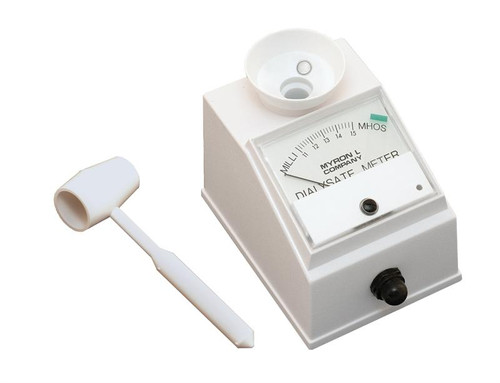 Dialysate Conductivity Meters : Myron l d dialysys meter dialysate cannon water