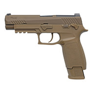 "Sig Sauer M17 Commemorative Semi Auto 9mm 4.7"" 17rd/21rd 1 of 5000 SigLite Night Sights Coyote"