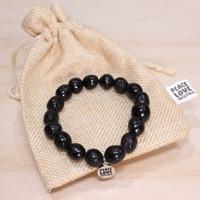 Black Tourmaline Pebble Bracelet