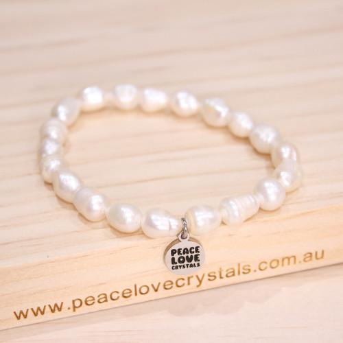 Pearl Chip Bracelet