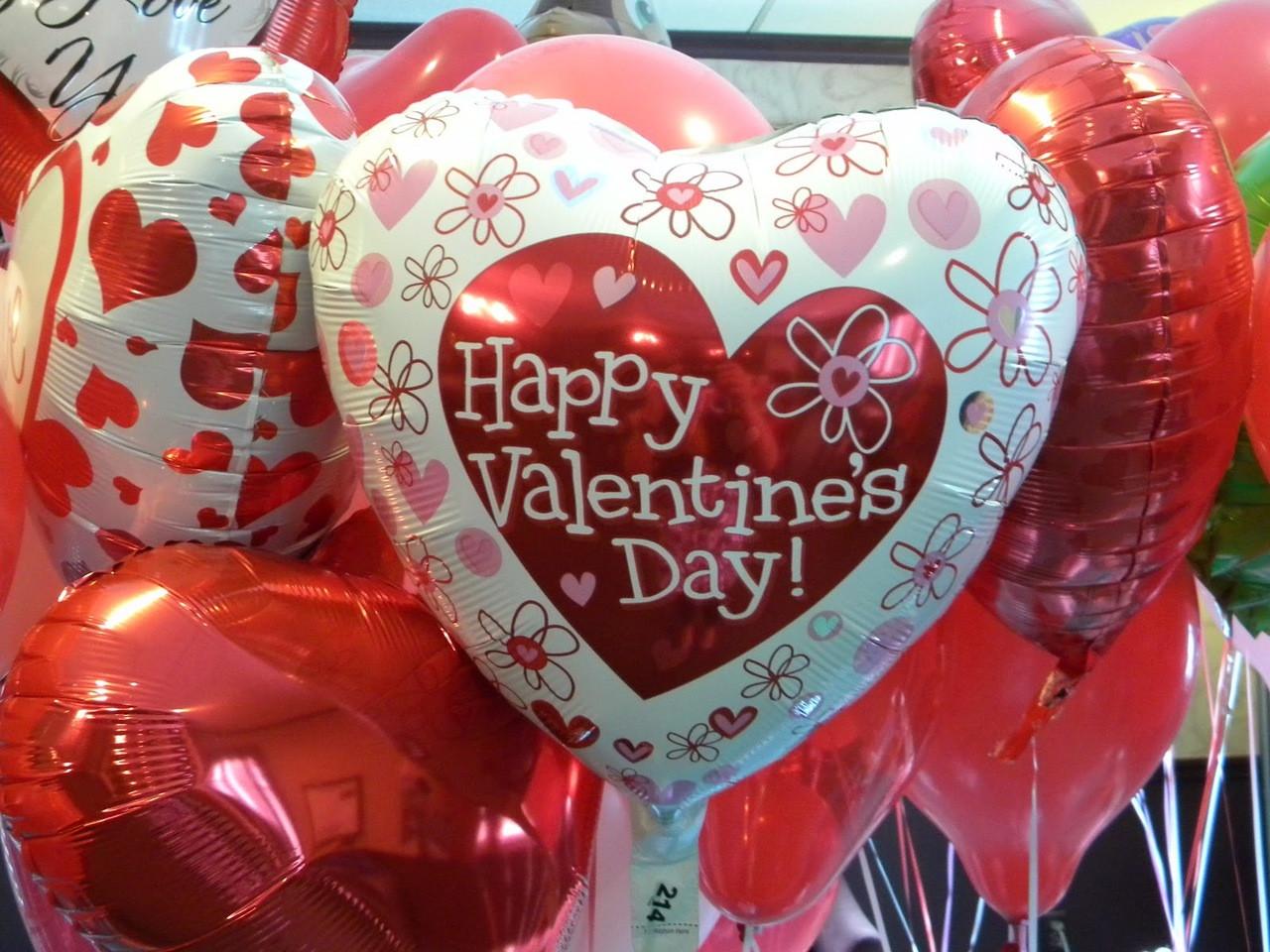 Perfekt Valentine Balloon Bouquet