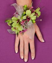 Orchid Fantasy Wrist Corsage
