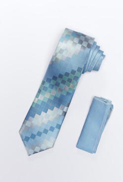 JPJ Tie + Handkerchief MINT