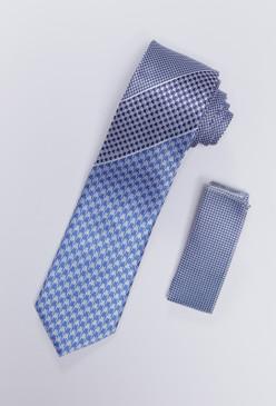 JPJ Tie + Handkerchief SKY BLUE