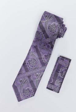JPJ Tie + Handkerchief LAVENDER (705)