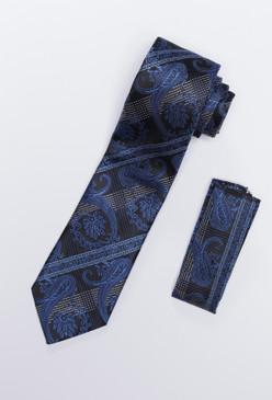 JPJ Tie + Handkerchief SKY BLUE (705)