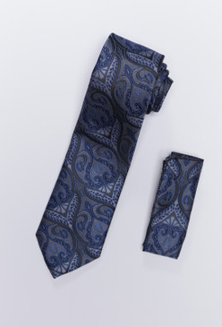 JPJ Tie + Handkerchief SKY BLUE (708)