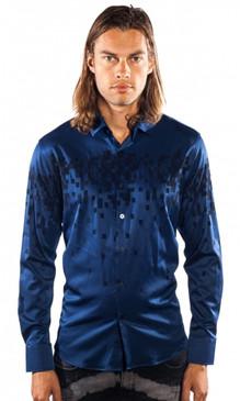 JPJ Pixels Navy Shirt
