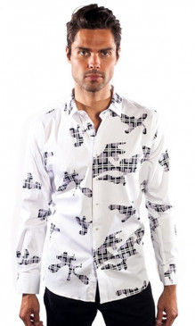 JPJ Puzzled White Shirt