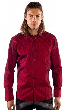 JPJ Royce Red Shirt